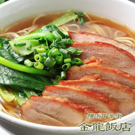 Chashued noodle (※ photo) / One Tanmen