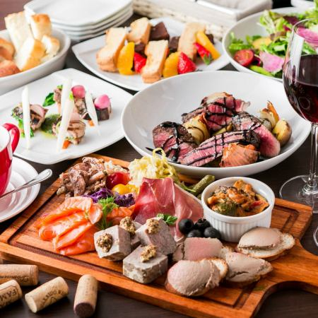 We offer French-based cuisine not only for wine but also for sake.