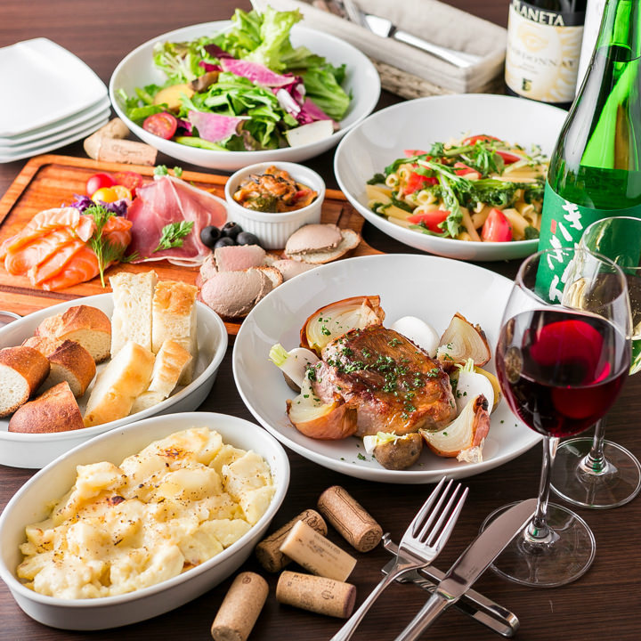Lineup of dishes that go well with red wine ♪