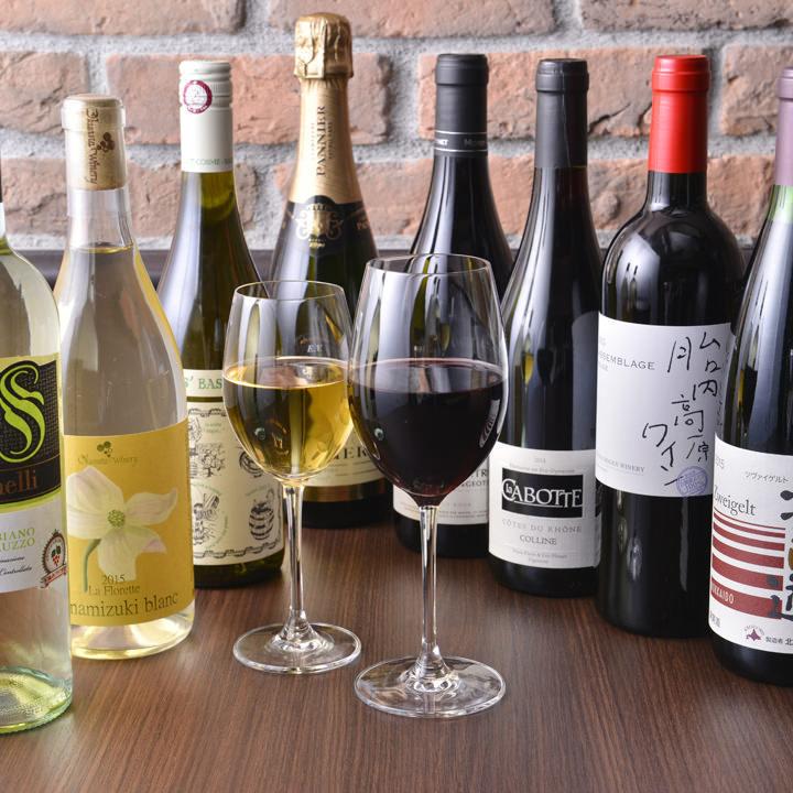 Downtown Bistro ♪ enjoyable with wine & Japanese sake ♪