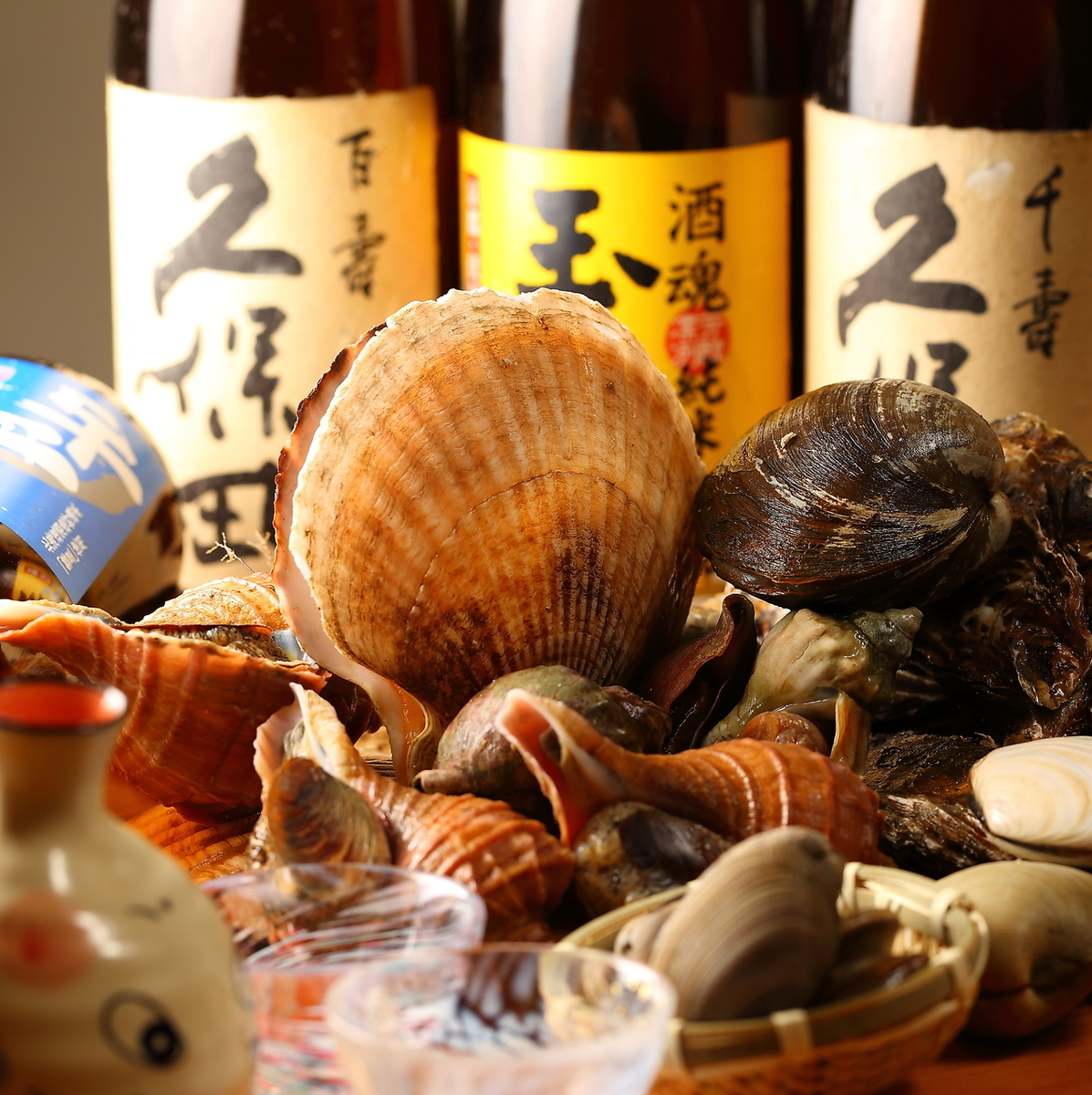 10 kinds of local sake brewed 120 minutes All you can drink 2080 yen ⇒ 1580 yen