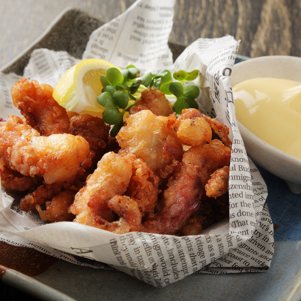 Deep-fried octopus fried chicken