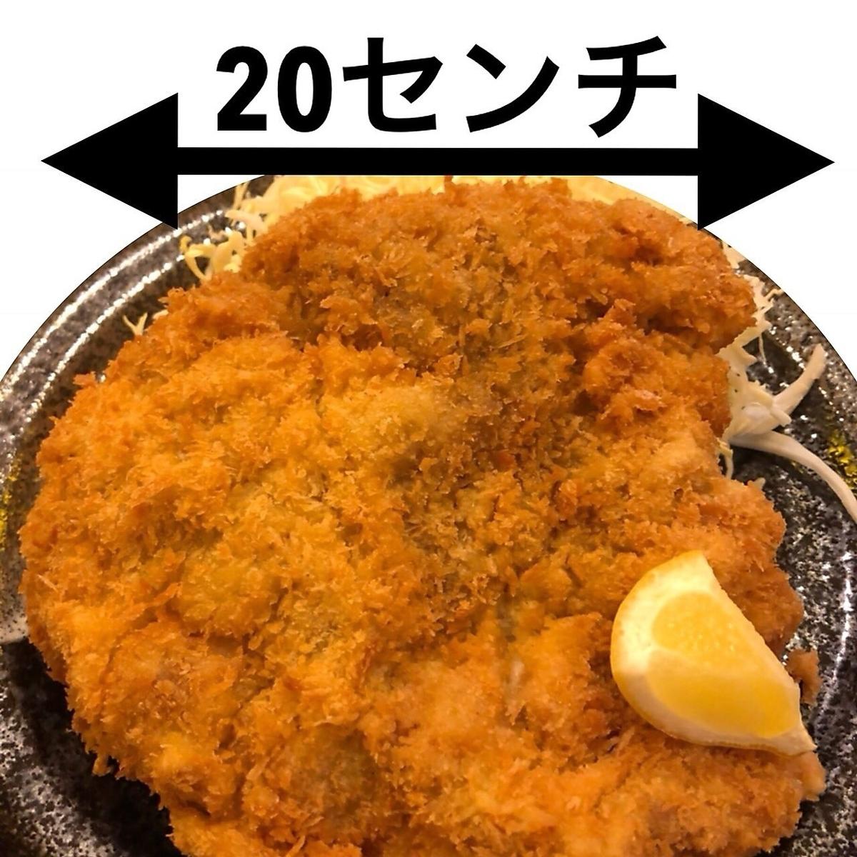 Big chicken cutlet