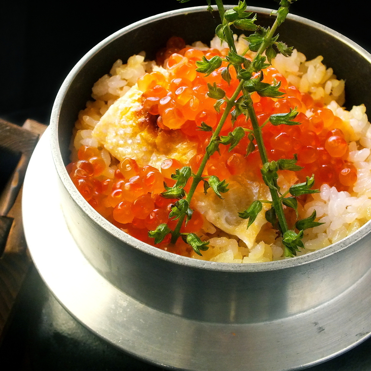 Pot Rice (salmon and child)