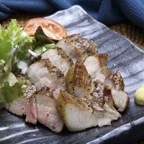 栗豚と藁燻製ベーコン風味