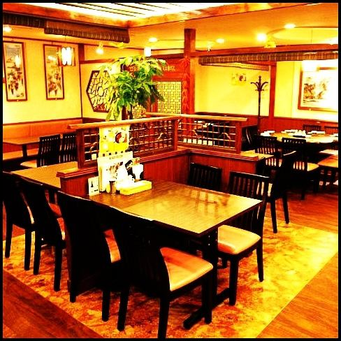 Compatible to small to large banquets! We can flexibly change the seat layout according to the number of people! Up to MA 120 persons possible! (Shinjuku all-you-can-drink all-you-can-ask private room Chinese cuisine)