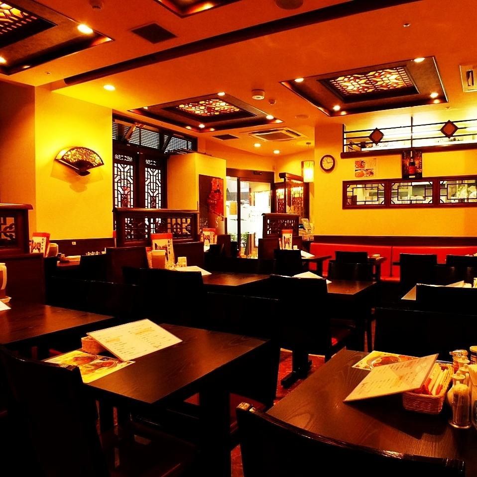 供應午餐♪私人房間根據人數準備!最多可容納60位客人使用。圓桌私人房間非常適合宴會!說中文,圓桌,在一張桌子上吃的食物是特殊的。沒有角落的圓桌會不自覺地緩解緊張情緒,你可以吃飯。如果您想在我們的商店一定在新宿★尋找中餐館