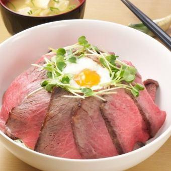 ★ Popular ★ Roast beef bowl ♪