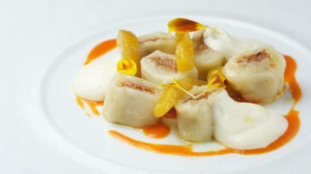 Course pasta dish (gnocchi)