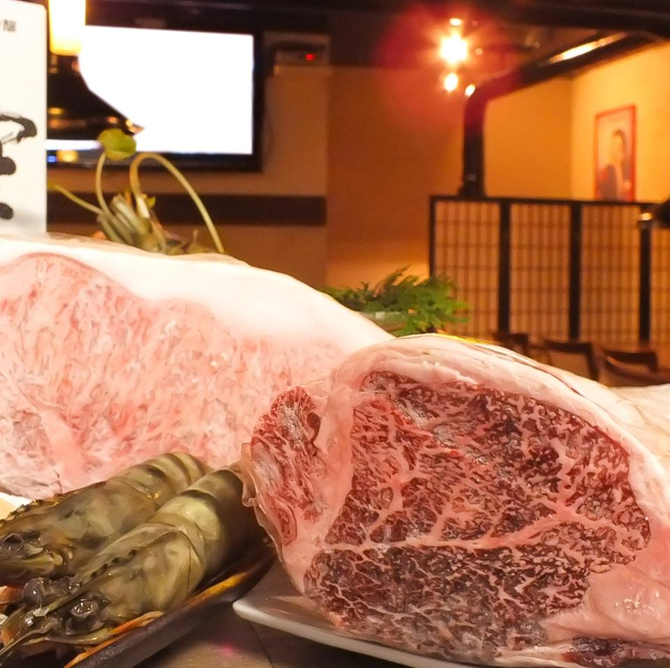 This is a luxury barbecue restaurant dealing with Matsusaka cows of particular attention in Hamamatsu