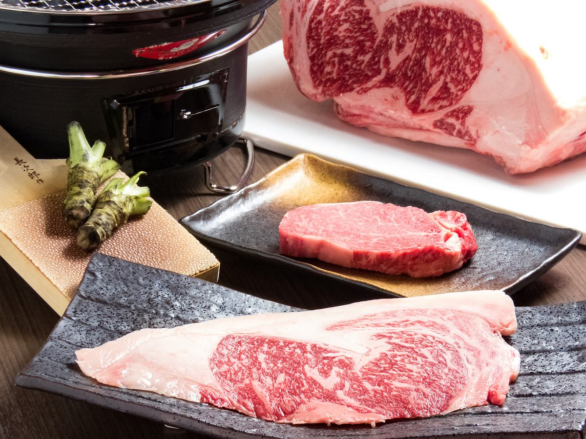 【Matsusaka beef】 A4, luxury Yakiniku restaurant specially selected exceptional Wagyu beef with rank or higher