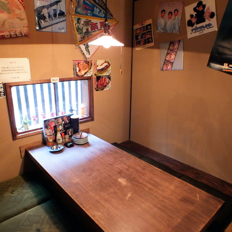 There are 4 seats for 6 people in the private dormitory seat.As popular seats ♪ reserve your early reservation ♪ Family use and various small party celebrations ◎