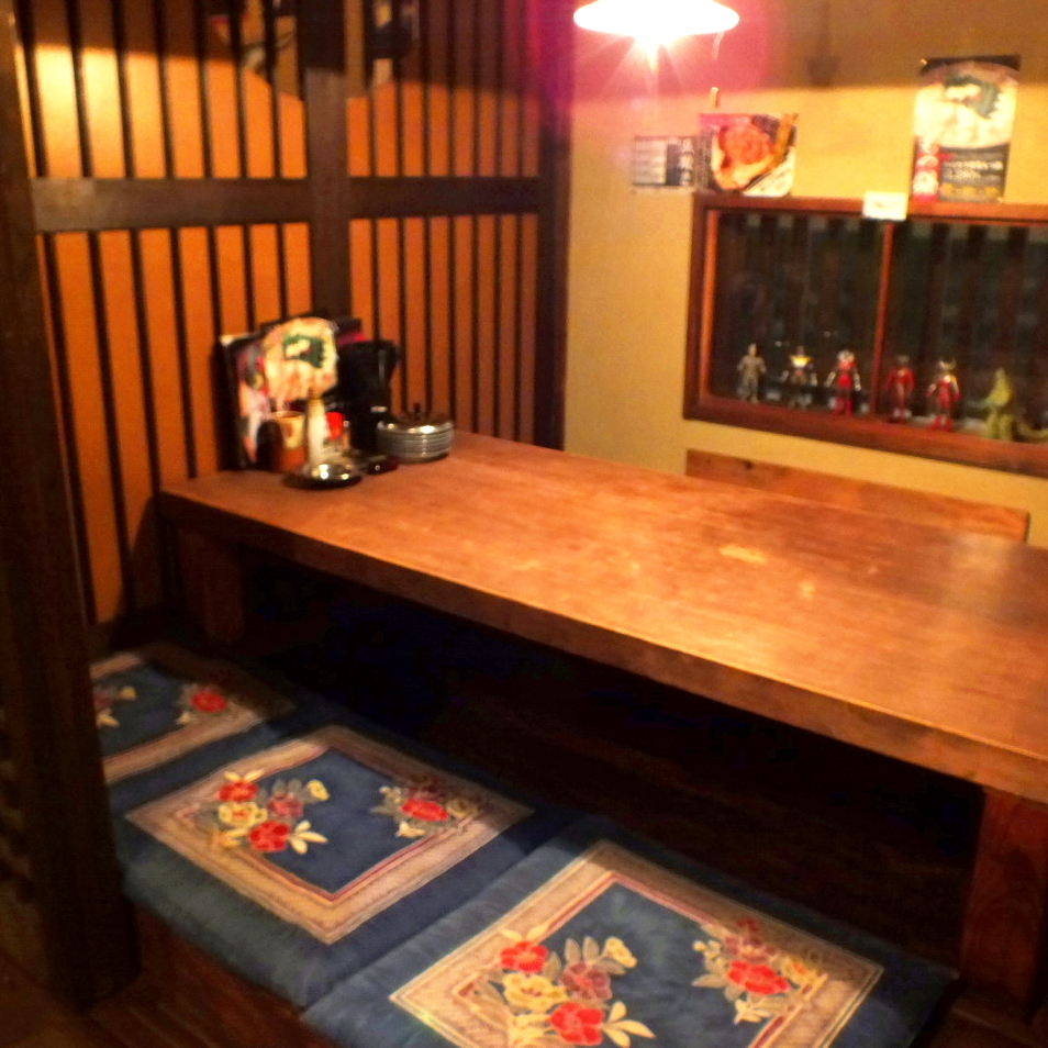A dining room of seven people × three seats.Recommended for families and banquets ♪