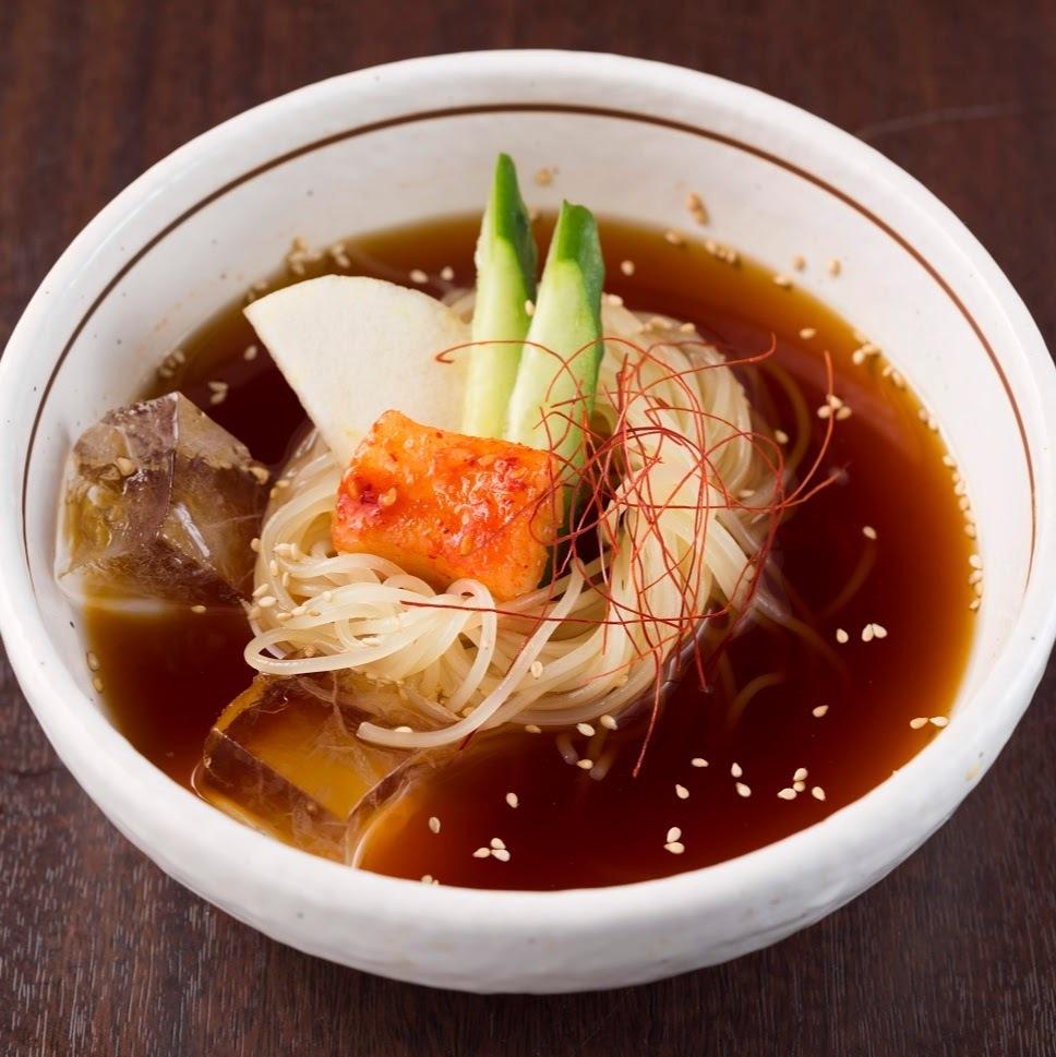 本場盛岡冷麺(ハーフ)~辛味スープ~