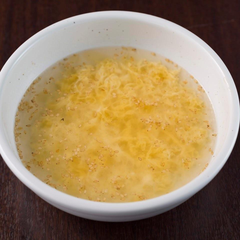 飲み干す!たまごスープ