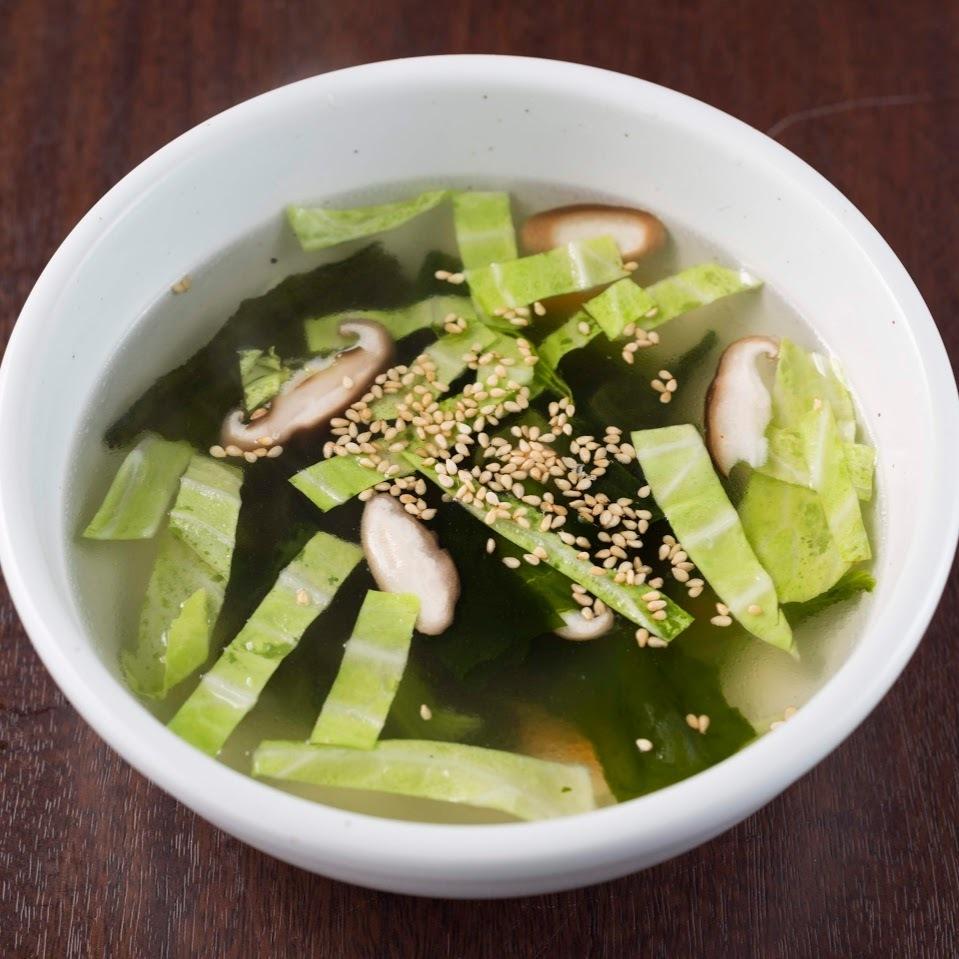 朝市野菜のスープ