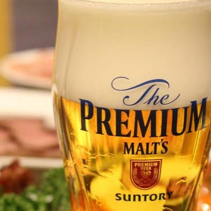 【プレミアムモルツ】飲み放題にも含まれているプラミアムモルツが大人気♪