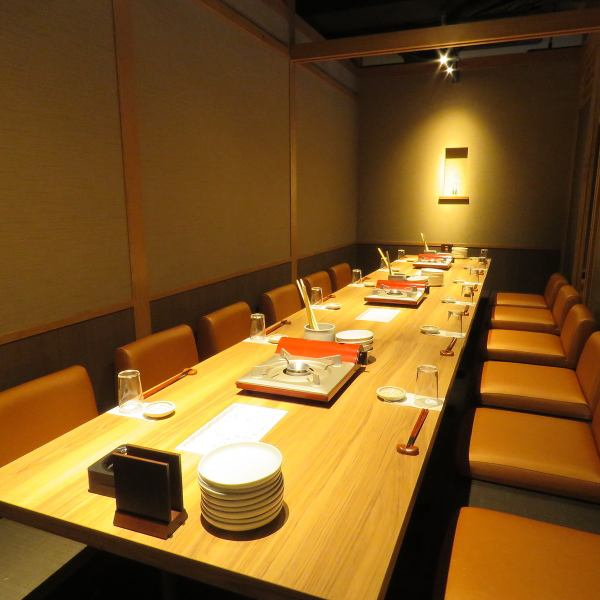 【Banquet up to 30 people】 Inside the shop is a space of Japanese style full of warmth of wood.A private dining room of our shop is perfect for special meals such as important hospitality and entertainment as well as an important corporate banquet with a sense of unity! We can accommodate from 2 people up to 30 people! Banquets for adults are also available Please feel free to contact us.