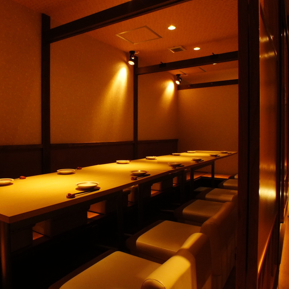 All the rooms are tastefully decorated in Kyomachiya.Please enjoy your meal slowly in a calm shop.