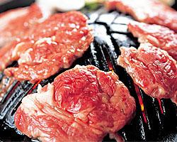 생 양고기 징기스칸