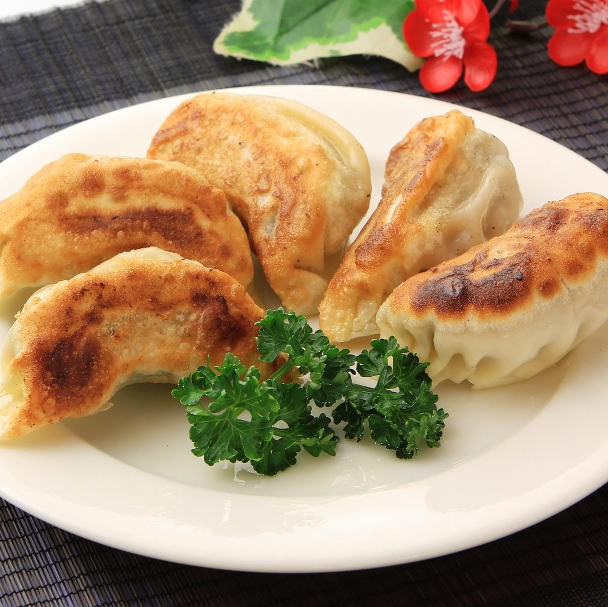Baked dumplings