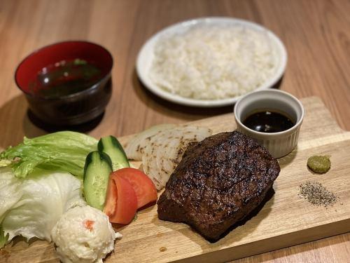 炎蔵ステーキ定食