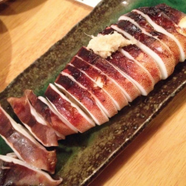 イカ焼き/秋刀魚の塩焼き