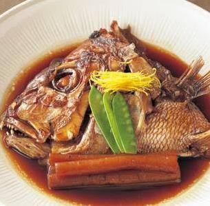 鯛のあらだき(煮つけ)