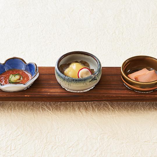 [おすすめ] 新潟珍味3種盛合せ ※季節により料理内容を変更します。
