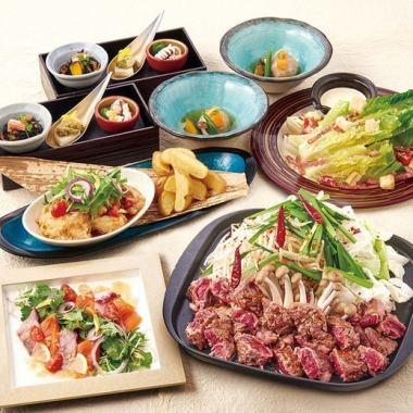 歓迎会や送別会におすすめ!佐渡の郷土料理が楽しめる、季節の宴会コースを3,980円からご用意!