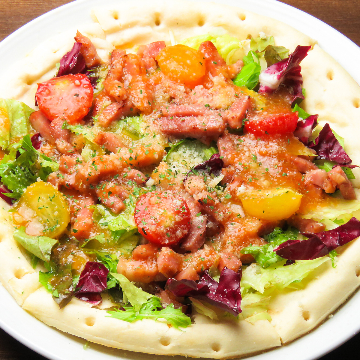 Bruketta pizza ☆ banquet course is also good ◎