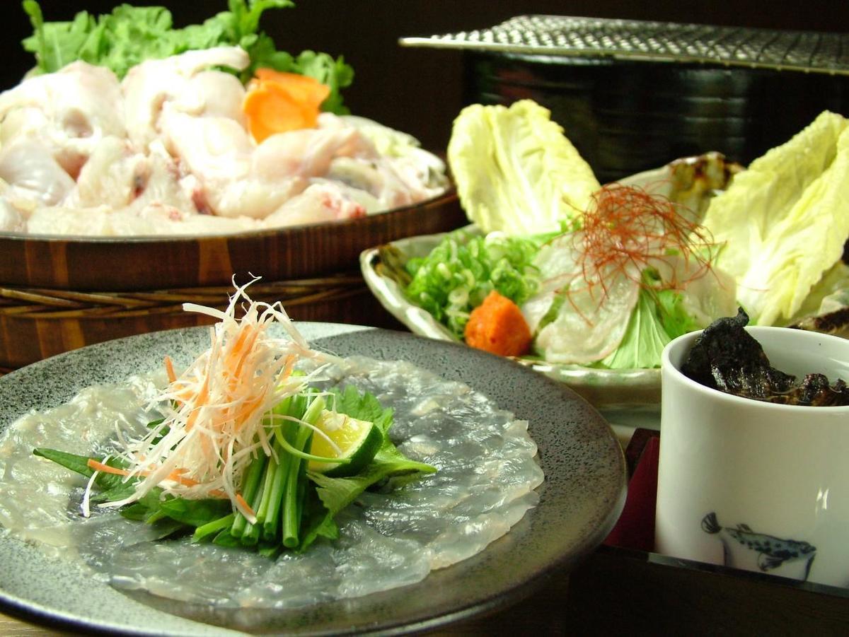 Popular! Fugu Banquet ◎