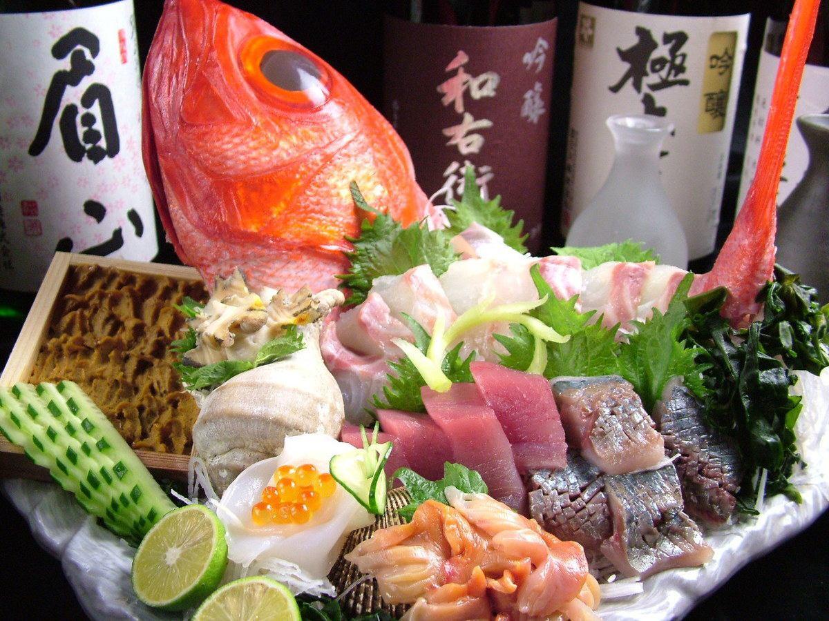駅前の定番名所をご紹介!その日の鮮魚をその日のうちに食べられるお店『魚家』!天候によってその日の魚種が変わるほど、毎日違う鮮魚が食べられるのが魅力♪