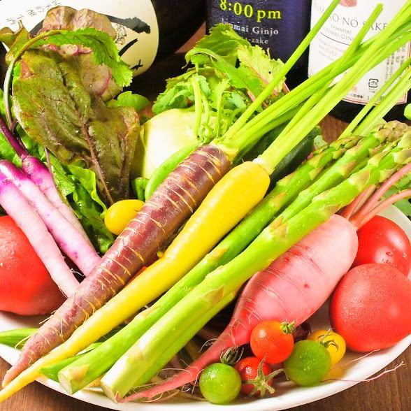 【豚料理】×【オーガニック野菜】がウリのお店♪