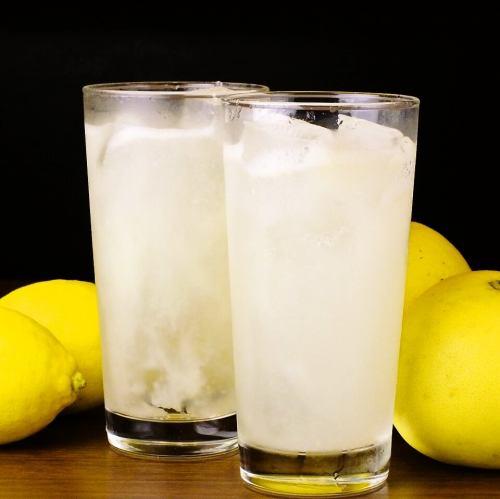 自家製レモンサワー/自家製グレープフルーツサワー