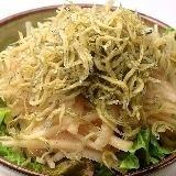 Japanese radish salad with radish