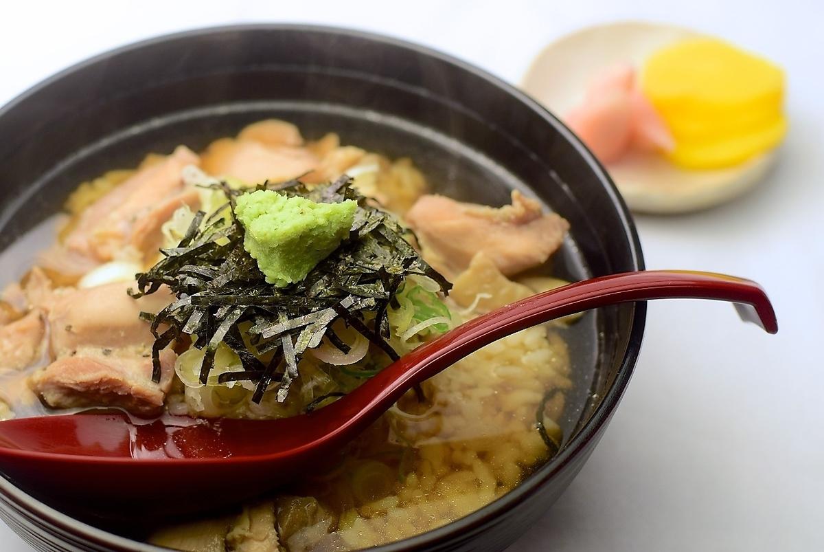 鸡Ochazuke(泡菜)