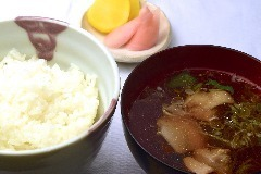 Rice set (pickles and tombs)