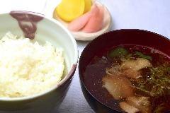 饭套餐(咸菜,Toriwasa)