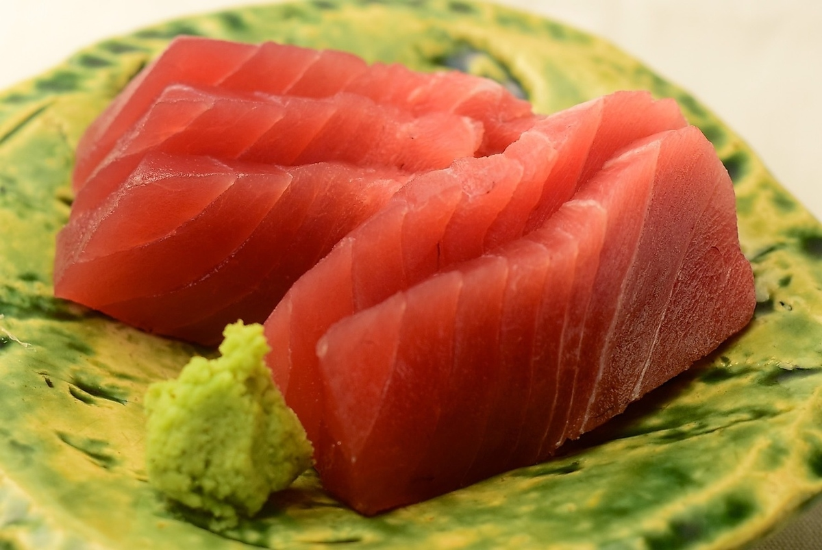 Raw tuna stick