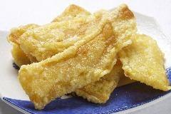 Dried potato tempura