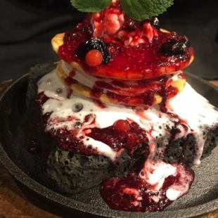 14: 00 ~ night OK! «Complete reservation system» 【Popular ♪ Lavender berry pan cakes all you can eat for 1000 yen】