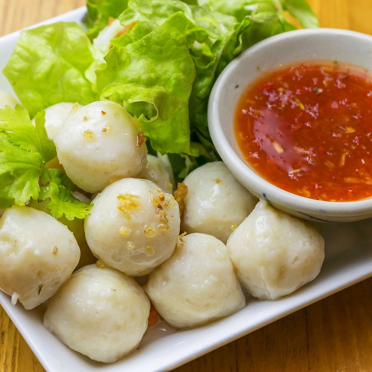 Sweet fish ball
