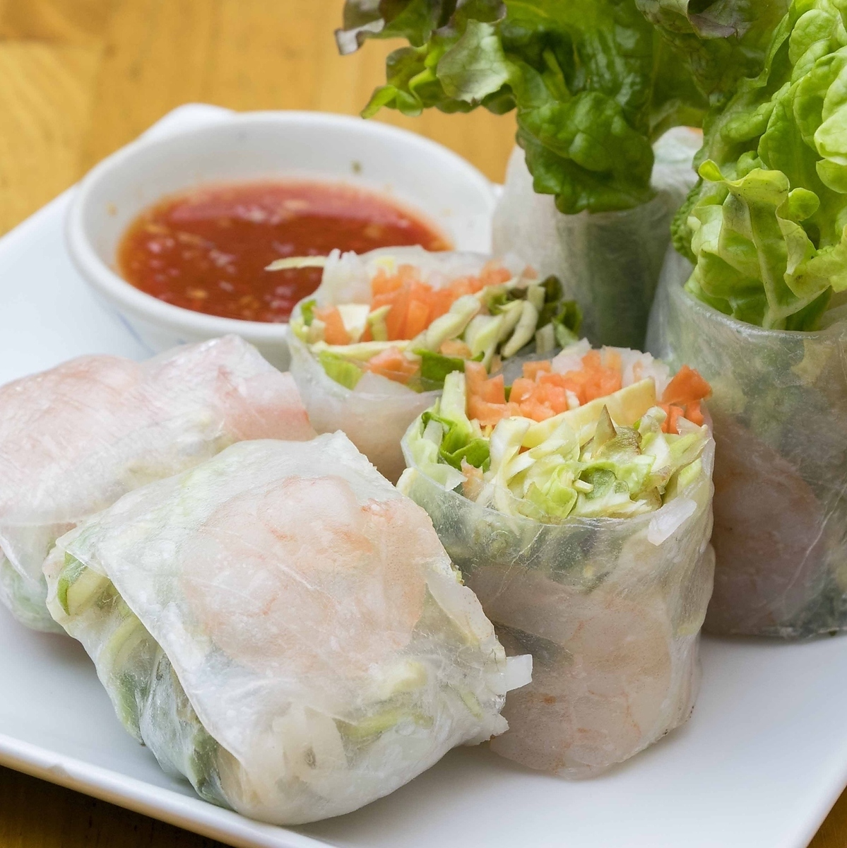 Raw spring roll (2 pieces)