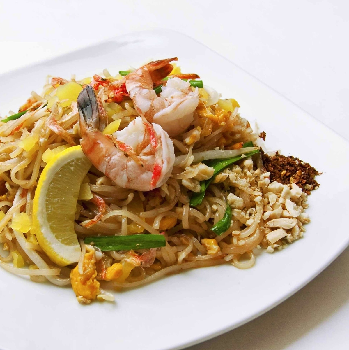 Thai grilled rice vermicelli
