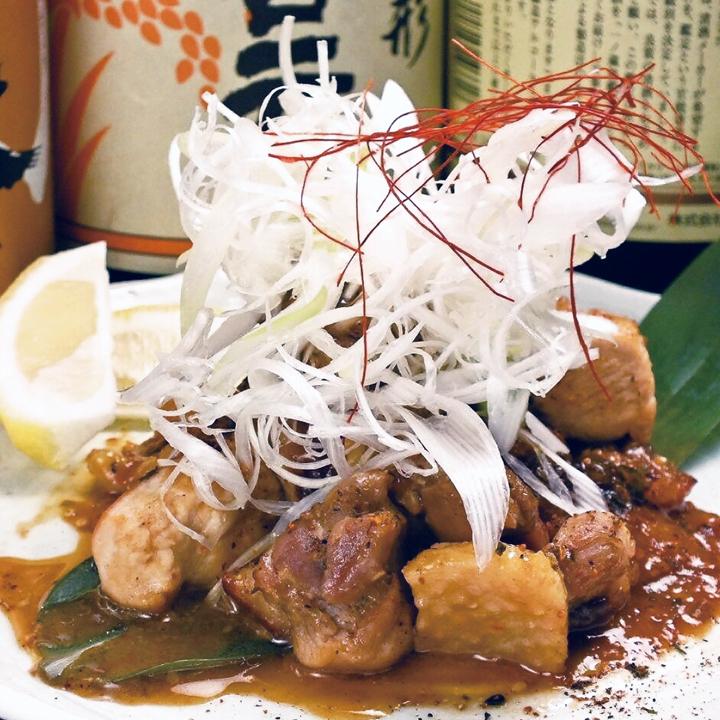 Grilled chicken Sendai miso paste