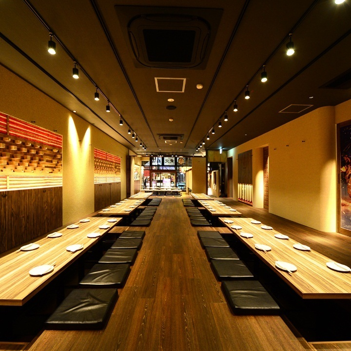 You can party for up to 150 guests in private rooms!