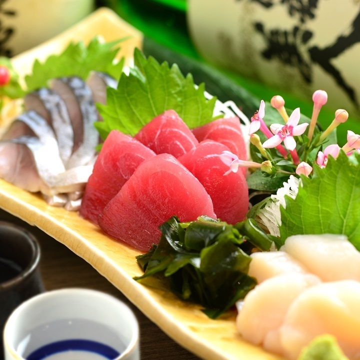 Assorted sashimi 3 varieties