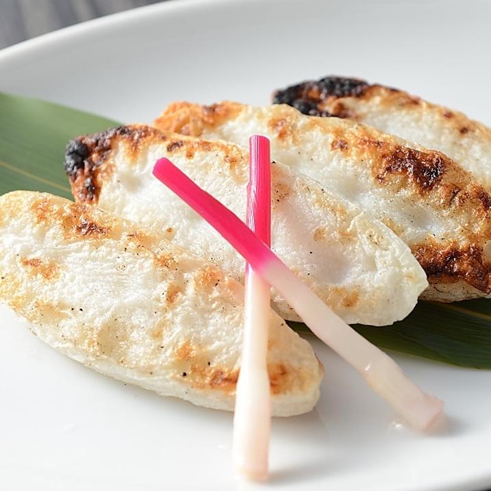 Bamboo fish cake