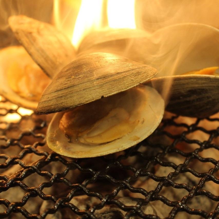 蛤 ~ clams ~ 2 pieces